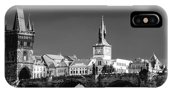 Charles Bridge Prague Czech Republic IPhone Case