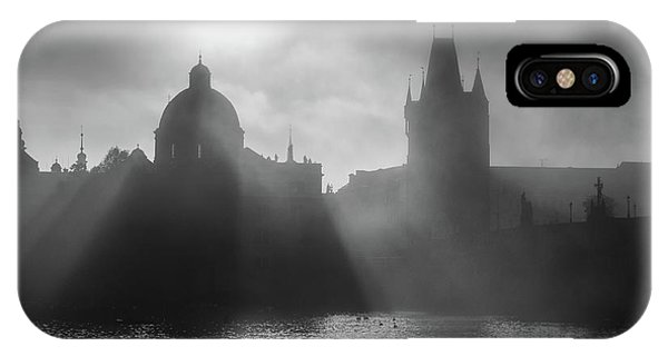 Charles Bridge Towers, Prague, Czech Republic IPhone Case
