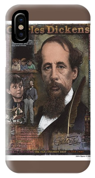 Charles Dickens IPhone Case