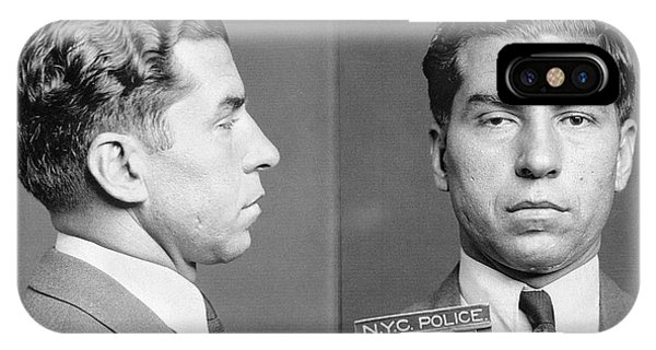 Charles Lucky Luciano IPhone Case