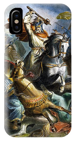 Er iPhone Case - Charles Martel (c688-741) by Granger