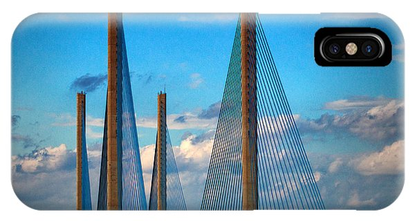 Charles W Cullen Bridge South Approach IPhone Case