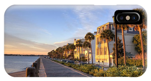 Charleston East Battery Row Sunrise IPhone Case