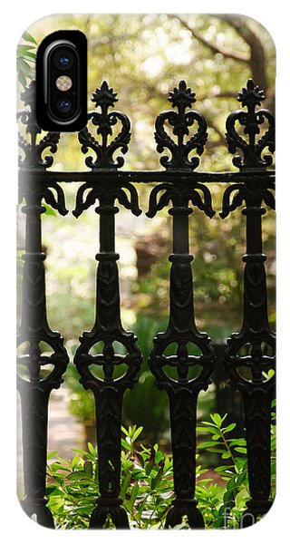 Charleston Fence IPhone Case
