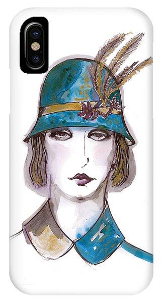 Charleston Girl Watercolor IPhone Case