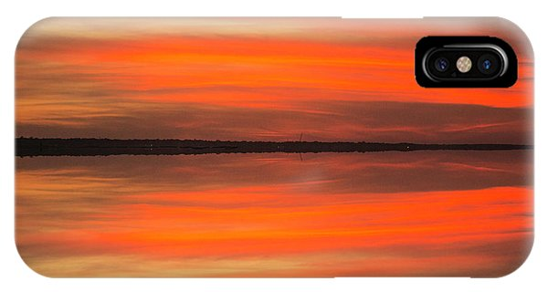 IPhone Case featuring the photograph Charleston Harbor Sunset 05 by Jim Dollar