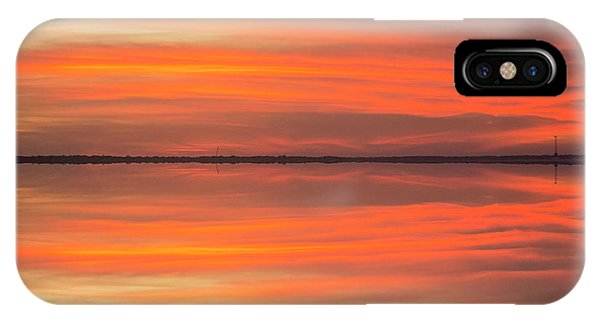 IPhone Case featuring the photograph Charleston Harbor Sunset 2017 11 by Jim Dollar