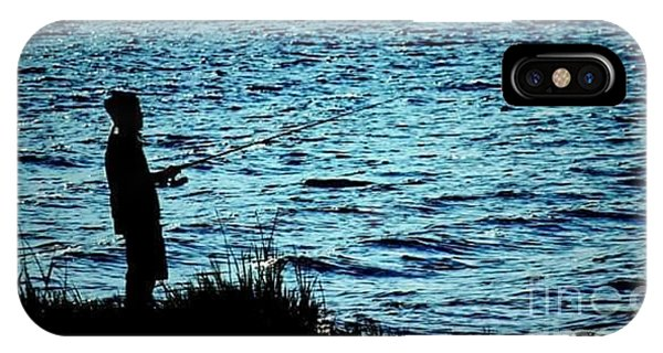 iPhone Case - Charleston Morning Fishing by Lisa Marie Towne