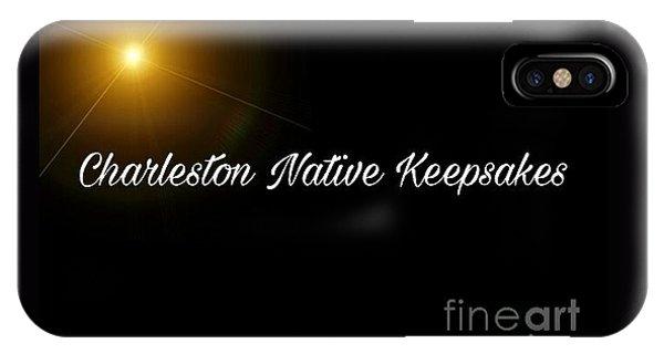 iPhone Case - Charleston Native Coffee Mug Logo #772017 by Lisa Marie Towne