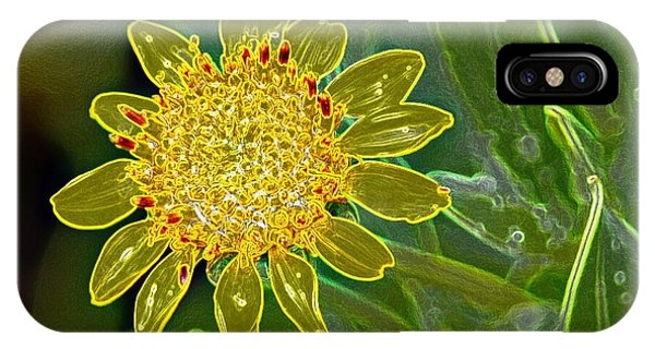 iPhone Case - Charleston Neon Floral by Lisa Marie Towne