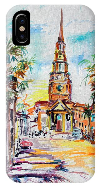 Charleston South Carolina Episcopal Church IPhone Case