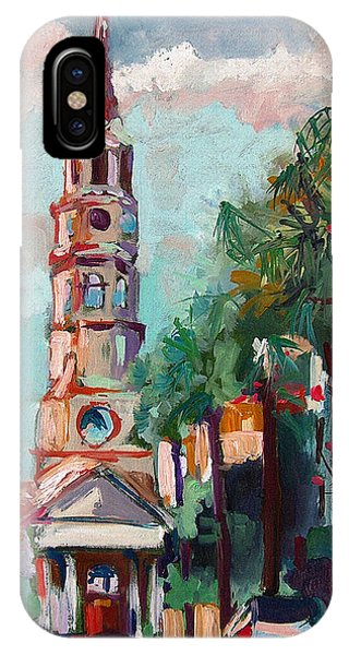 Charleston St Phillips Church IPhone Case