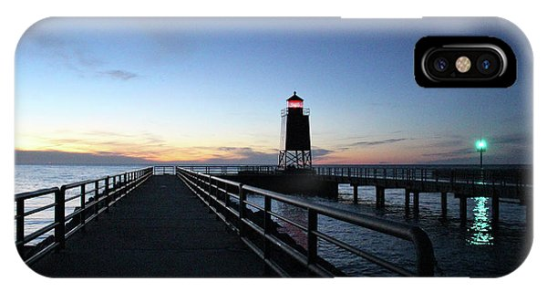 Charlevoix Light Tower IPhone Case