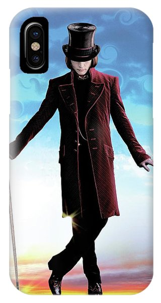 Charlie And The Chocolate Factory 2005 IPhone Case