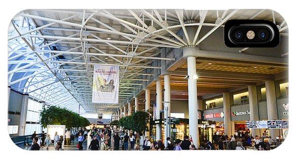 Charlotte Douglas International Airport Terminal IPhone Case