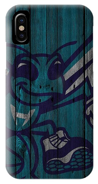 Charlotte Hornets Wood Fence IPhone Case
