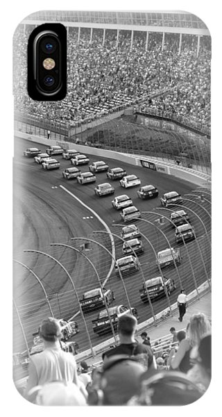A Day At The Racetrack IPhone Case