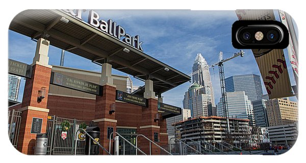 Charlotte Knights Ballpark IPhone Case