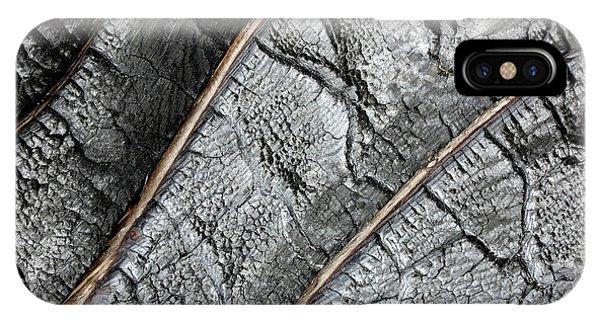 Charred Pine Bark IPhone Case