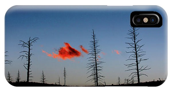 Charred Sunset IPhone Case