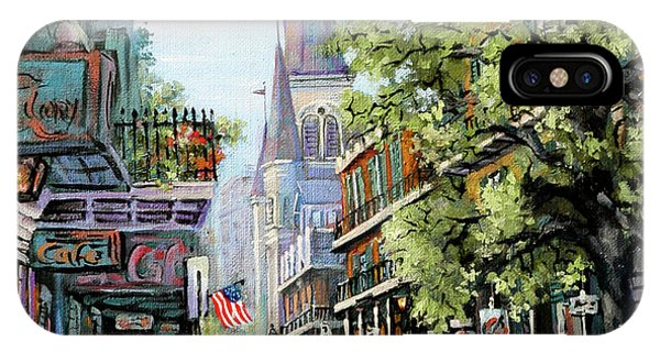 French Artist iPhone Case - Chartres Rain by Dianne Parks
