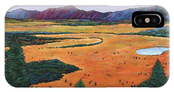 Teton iPhone Case - Chasing Heaven by Johnathan Harris