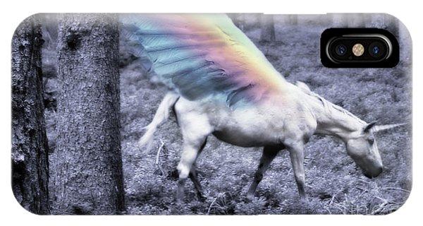 Chasing The Unicorn IPhone Case