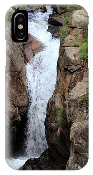 IPhone Case featuring the photograph Chasm Falls 2 - Panorama by Shane Bechler