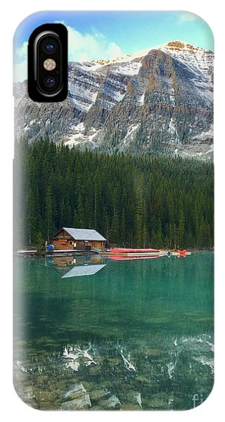 Chateau Boat House IPhone Case