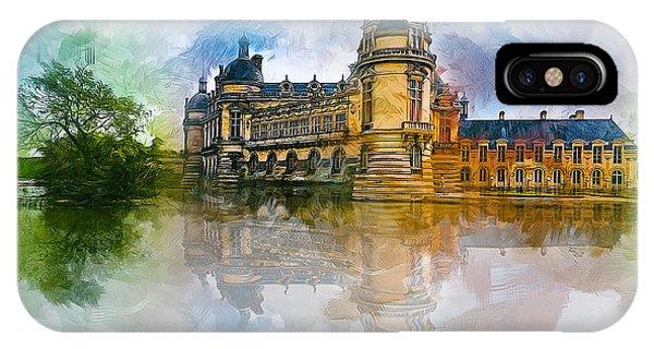 Chateau De Chantilly IPhone Case