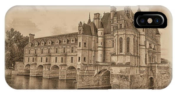 Chateau De Chenonceau IPhone Case