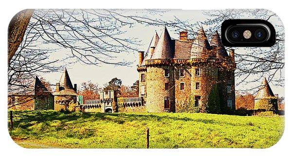 Chateau De Landale IPhone Case