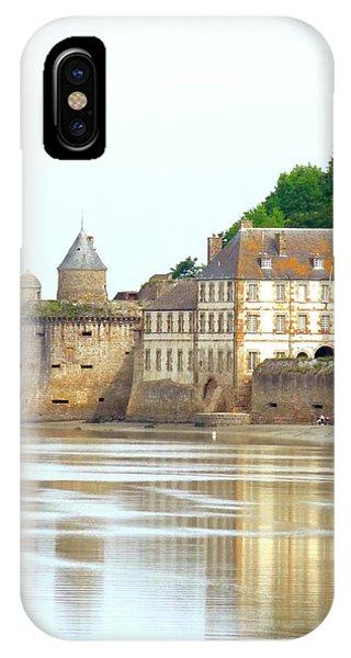 Chateau On Mont St-michel IPhone Case