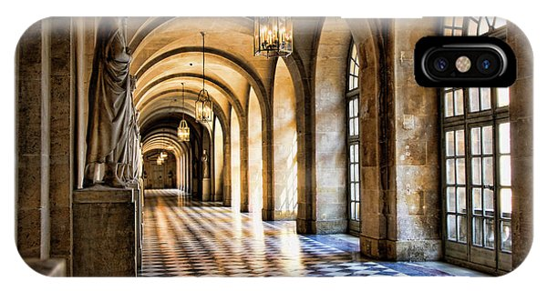 Chateau Versailles Interior Hallway Architecture  IPhone Case