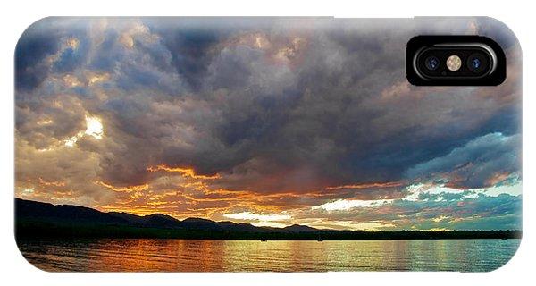 Chatfield Technicolor Sunset IPhone Case