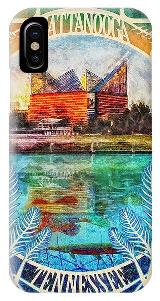 Chattanooga Aquarium Poster IPhone Case