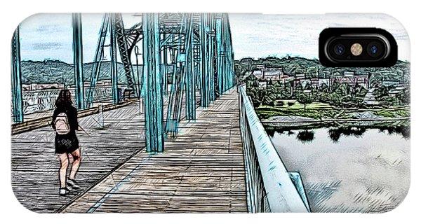 Chattanooga Footbridge IPhone Case