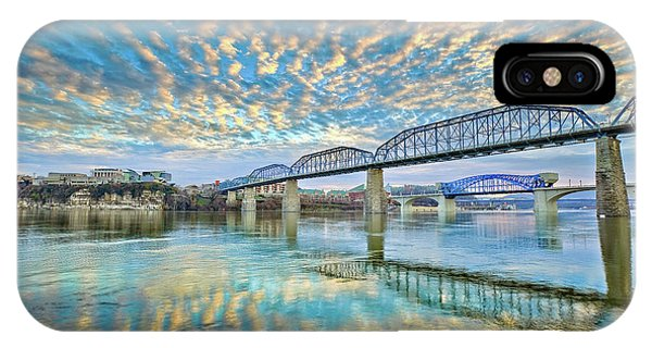 Chattanooga Has Crazy Clouds IPhone Case