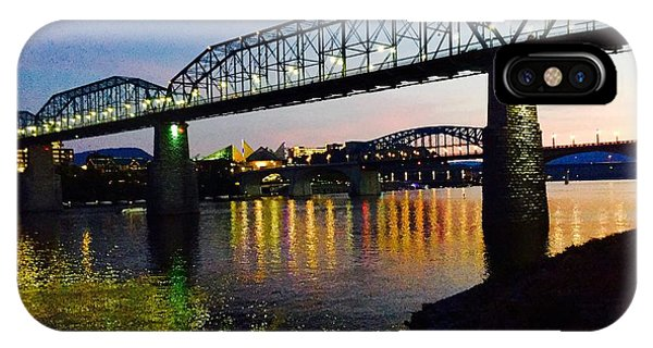 Chattanooga Nites IPhone Case