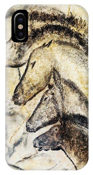 Chauvet Horses IPhone Case