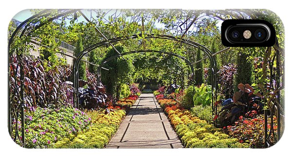 Cheekwood Gardens Arched Pathway IPhone Case