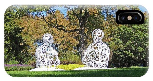 Cheekwood Gardens Sculptures IPhone Case