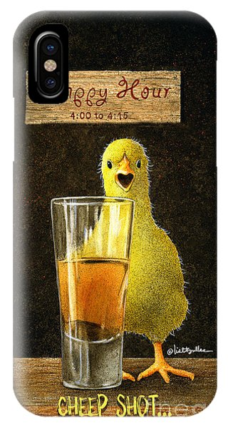 Cheep Shot... IPhone Case