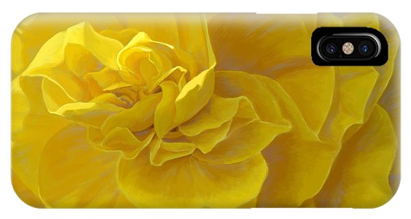 Digital iPhone Case - Cheerful by Lucie Bilodeau