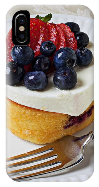 Cheese Cream Cake With Fruit IPhone Case