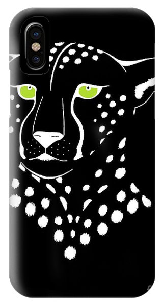 Cheetah Inverted IPhone Case