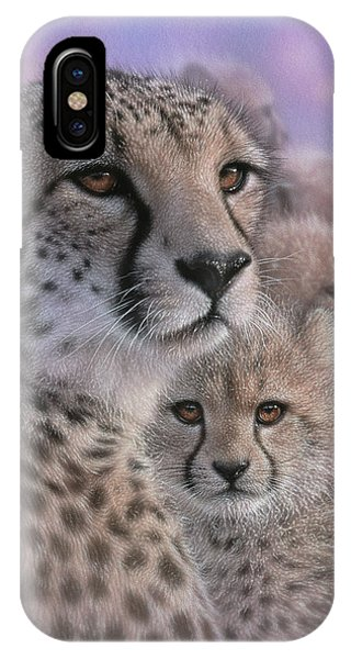 Cheetah - Mother's Love IPhone Case