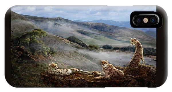 Cheetah Ridge IPhone Case