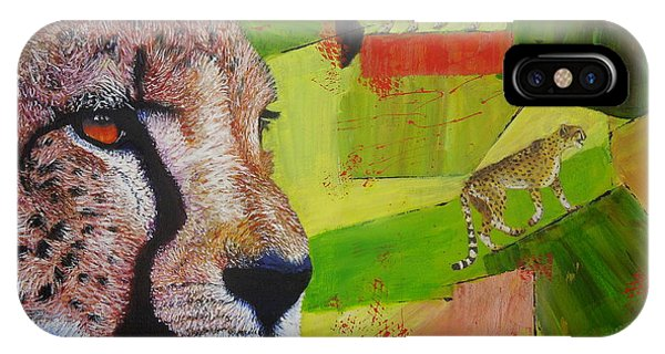 Cheetahs At Play IPhone Case