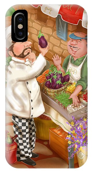 Chefs Go To Market I IPhone Case